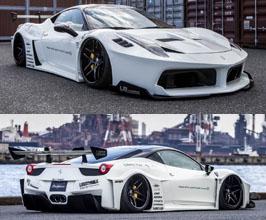 Liberty Walk LB Silhouette Works GT Complete Wide Body Kit for Ferrari 458