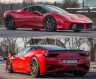 PRIOR Design PD458 Aerodynamic Body Kit (FRP) for Ferrari 458 Italia