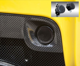 Novitec Rear Fog Lights (Black) for Ferrari 458
