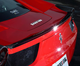 Leap Design Rear Spoiler (Carbon Fiber) for Ferrari 458