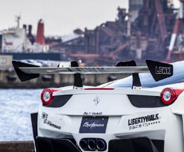 Liberty Walk LB Silhouette Works GT Rear Wing with Swan Neck