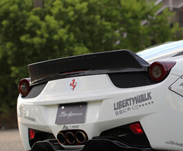 Liberty Walk LB Rear Wing Version 2 (FRP)
