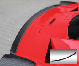 Novitec Rear Lip Spoiler (FRP) for Ferrari 458