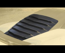 MANSORY Rear Engine Bonnet Cover (Carbon Fiber) for Ferrari 458