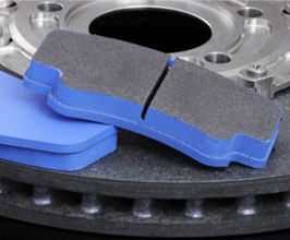 Endless W007 Track Carbon Ceramic Rotor Dedicated Brake Pads - Rear