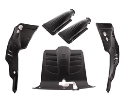 Carbonio Air Box with Engine Bay Package (Carbon Fiber)