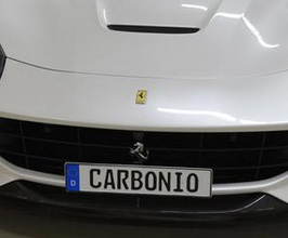 Carbonio Front License Plate Mount (No Drilling)