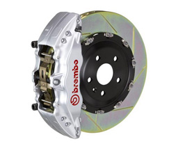Brembo Rear 6-Piston Gran Turismo Brake System with Slotted Rotors