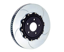 Brembo Two-Piece 328mm Rotors (Type 5) - Rear