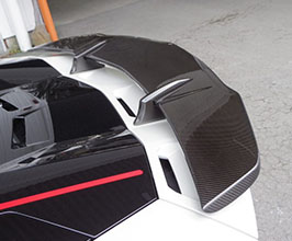 Pro Composite Rear Vented Spoiler with Wing - Type 2 Low