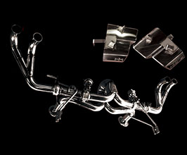 Boom Craft StarDropper High Pitch Valved Exhaust System with Cat Bypass (Stainless)