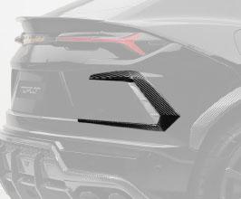 TopCar Design Rear Air Outtake Splitters (Carbon Fiber)