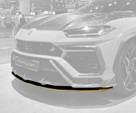 TopCar Design Front Lip Under Spoiler (Carbon Fiber)