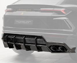 TopCar Design Rear Diffuser (Carbon Fiber)