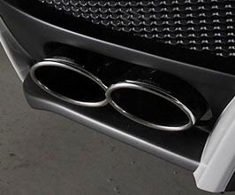 Black Pearl Complete Jewelry Line Diamond Series Exclusive Quad Exhaust System (Stainless)
