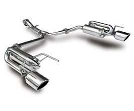 Suruga Speed PFS Loop Sound Muffler Exhaust System (Stainless)