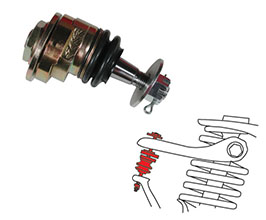 SPC Camber Adjustable Upper Control Arm Ball Joints - Front