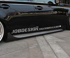 Job Design World Premium 8 and 10th Anniversary Aero Side Steps (FRP)