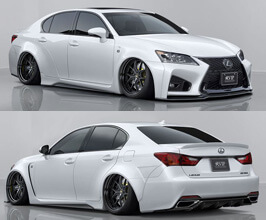 AIMGAIN Pure VIP GT Aero Wide Body Kit with Trunk and Roof Spoilers (FRP)