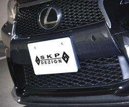 SKIPPER SKP DEZIGN Front Bumper Garnish (Carbon Fiber)