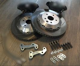 LEXON Exclusive Rear GSF Brake Conversion Rotors and Bracket Kit