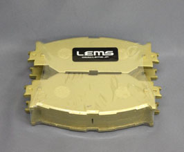 Lems Non Dust Brake Pads - Front
