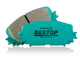 Project Mu Bestop Genuine Replacement Brake Pads - Rear