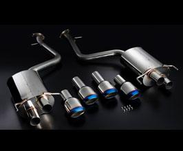 KSPEC Japan SilkBlaze GLANZEN Rear Muffler Exhaust System (Stainless)