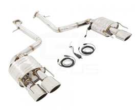 MUSA by GTHAUS GTC Valve Controlled Exhaust System with Oval Tips (Stainless)