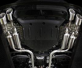 Suruga Speed PFS Twin Loop Sound Muffler Exhaust System (Stainless)