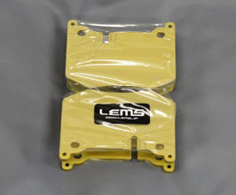 Lems Non Dust Brake Pads - Rear