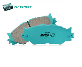 Project Mu NS-C Street Brake Pads (Low Noise and Low Dust) - Rear