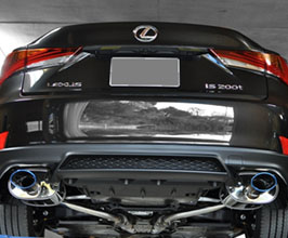 EXART One Series Muffler Exhaust System with Oval Tips (Stainless)