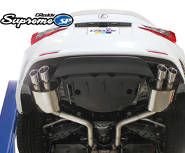 GReddy Supreme SP Exhaust System with Quad Tips (RC350)