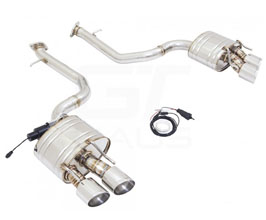 MUSA by GTHAUS GTC Valve Controlled Exhaust System with Quad Round Tips (Stainless Steel)