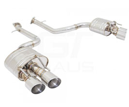 MUSA by GTHAUS GTS Exhaust System with Quad Round Tips (Stainless Steel)