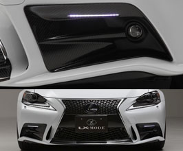 LX-MODE Fog Lamp Garnishes (Carbon Fiber)