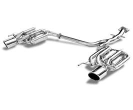 Suruga Speed PFS Dual Loop Sound Muffler Exhaust System (Stainless)