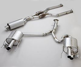 NOVEL Catback Exhaust System with Valves (Stainless)