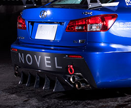 NOVEL Aerodynamic Rear Diffuser
