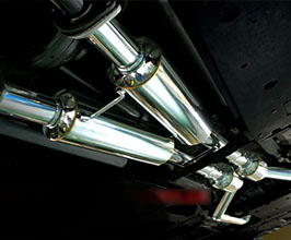 Mode Parfume Regalia Front Pipes and Center Section with Silencers by Tanabe (Stainless)