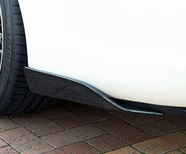 TOP SECRET G-Force Rear Side Diffuser Spoilers (Carbon Fiber)