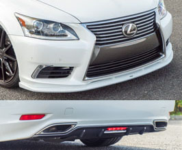 LEXON Exclusive Front and Rear Under Diffusers (FRP)