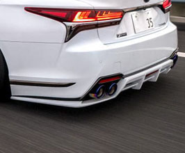 LEXON Exclusive Rear Diffuser (FRP) for Lexus LS 5