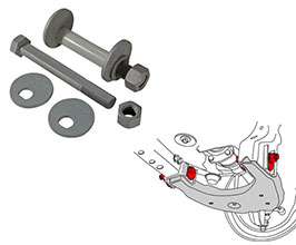 SPC Adjustable Camber Cam Bolts Kit - Front