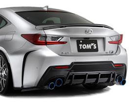 TOMS Racing Aero Rear Under Diffuser (Carbon Fiber) for Lexus RCF 2015-2018