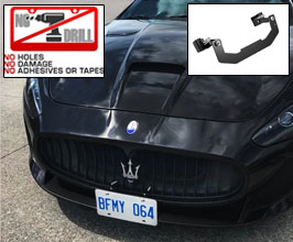 Carbonio Front License Plate Mount - USA (No Drilling)