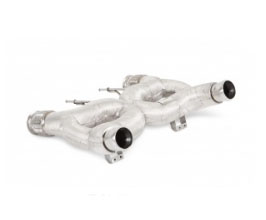 Larini GT1 Exhaust System (Stainless) with Heat Protection (Inconel)