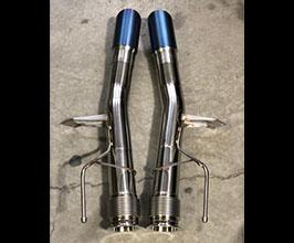 Unobtainium Race Exhaust Straight Pipes - 3 inch (Inconel)