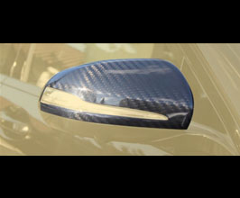 MANSORY Mirror Housing Covers for LHD (Carbon Fiber) for Mercedes C-Class C205